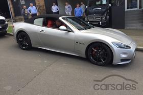 2017 Maserati Grancabrio Sport Auto My13