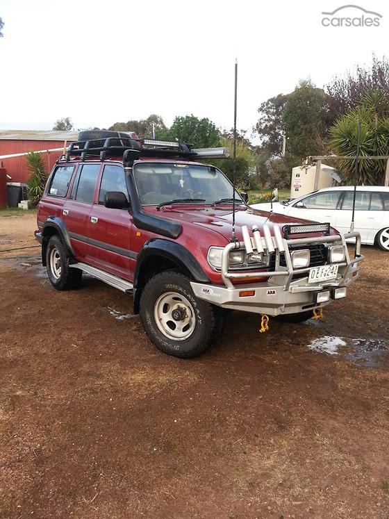 1995 Toyota Landcruiser GXL Manual 4WD-SSE-AD-6135948