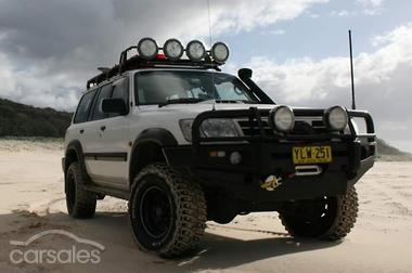 2003 Nissan Patrol St Gu Iii Manual 4x4 My03