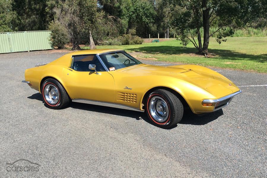 1972 Chevrolet Corvette Stingray Manual My72 Sse Ad 5716662