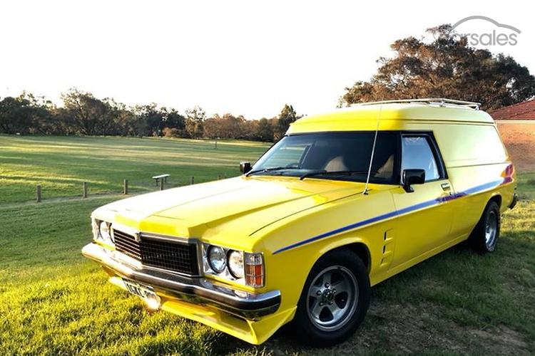 1978 Holden Sandman Hz Auto Sse Ad 5720518