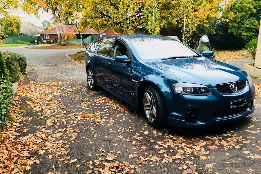 2012 Holden Commodore SV6 VE Series II Auto MY12 5-SSE-AD