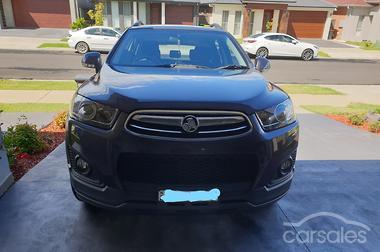 2017 Holden Captiva 7 Active Cg Auto My15