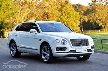 2017 Bentley Bentayga Auto Awd My17