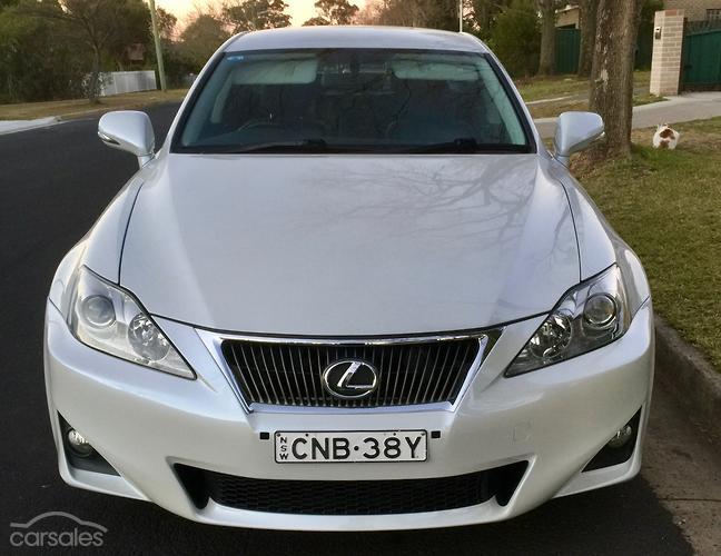 2011 Lexus IS250 Prestige Auto MY11
