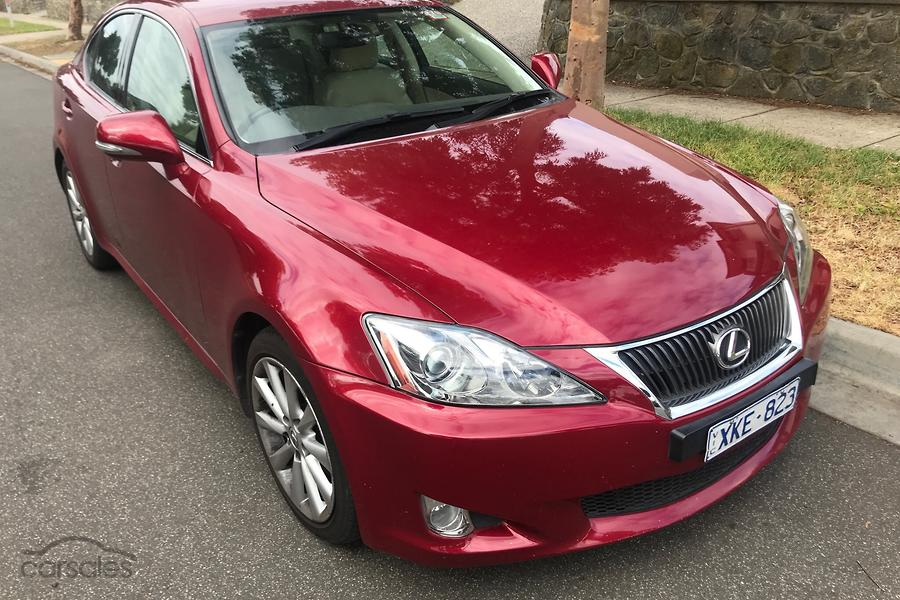lexus is 250 tires 2009