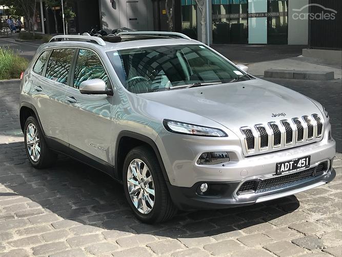 2014 Jeep Cherokee Limited Auto 4x4 MY15