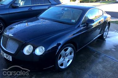 new & used bentley continental gt cars for sale in australia