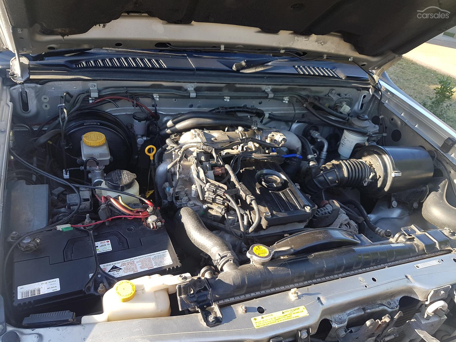 2005 Nissan Navara ST-R D22 S2 Manual 4x4-SSE-AD-6118351