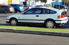1989 Honda CRX Manual
