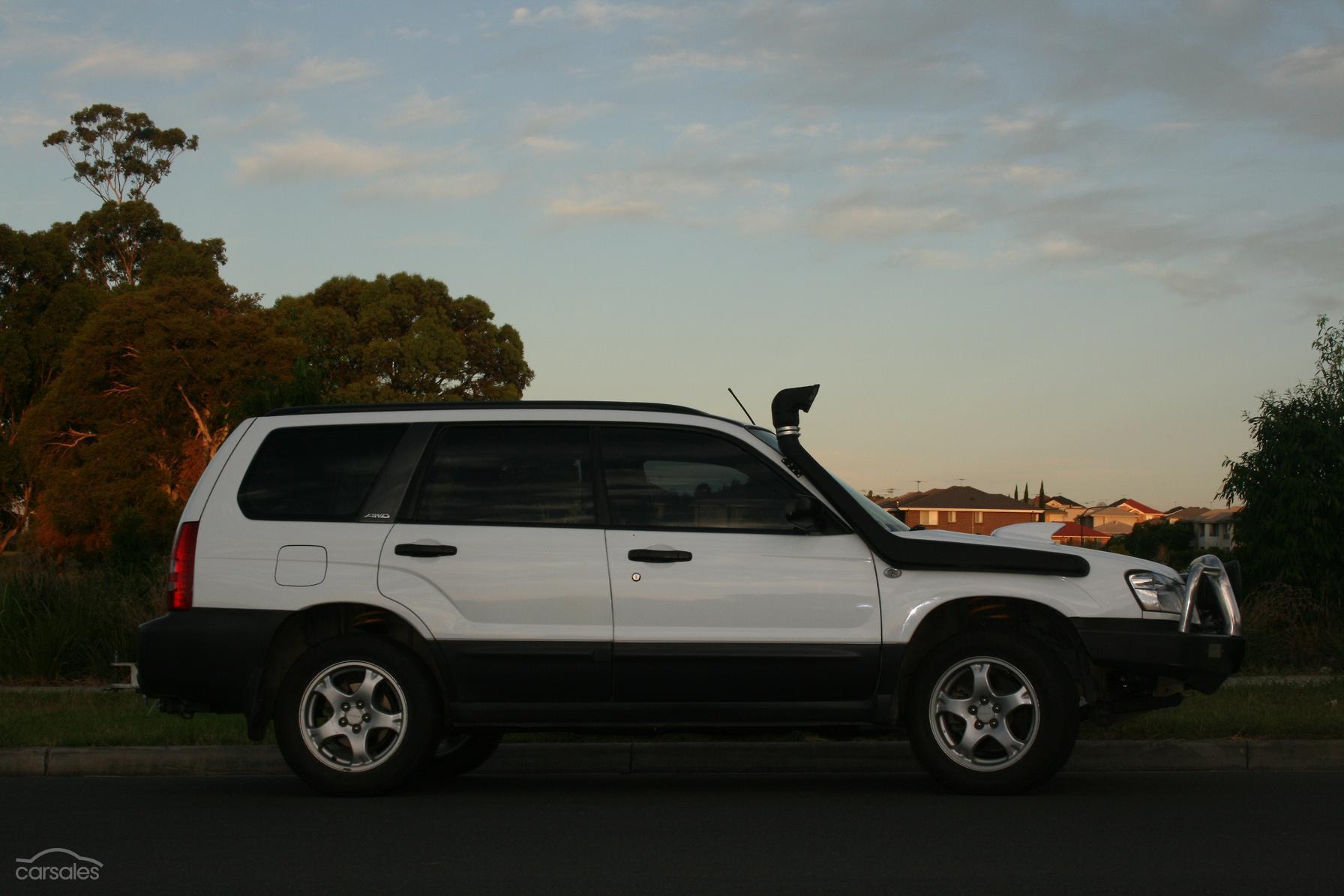 2004 Subaru Forester XT 79V Manual AWD MY04-SSE-AD-5750651