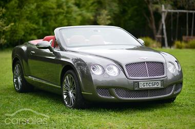2010 Bentley Continental Gtc Sd Auto 4wd My11