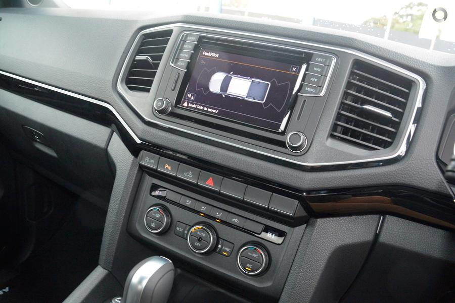2019 Volkswagen Amarok TDI580 Highline Black 2H